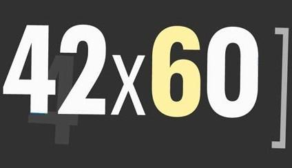 42x60